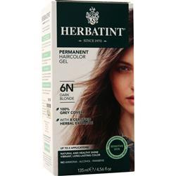 Herbatint Permanent Herbal Haircolour Gel Dark Blonde 135 mL
