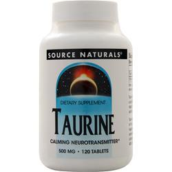 Source Naturals Taurine (500mg) 120 tabs