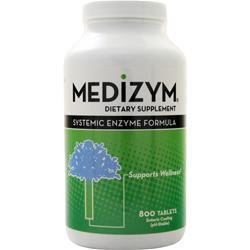 Naturally Vitamins Medizym - Systemic Enzyme Formula 800 tabs