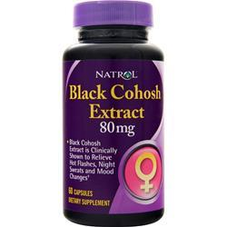 Natrol Black Cohosh (80mg) 60 caps