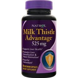 Natrol Milk Thistle Advantage (525mg) 60 caps