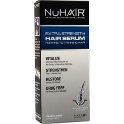 Nu Hair Extra-Strength Thinning Hair Serum For Men and Women 3.1 fl.oz