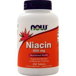 Now Niacin (500mg) - Sustained Release 250 tabs