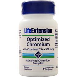 Life Extension Optimized Chromium with Crominex 3+ (500mcg) 60 vcaps