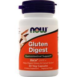 Now Gluten Digest 60 vcaps