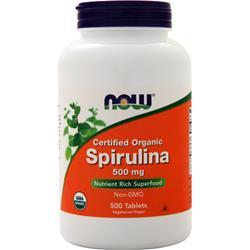 Now Spirulina 500 tabs