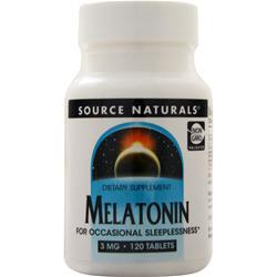 Source Naturals Melatonin (3mg) 120 tabs