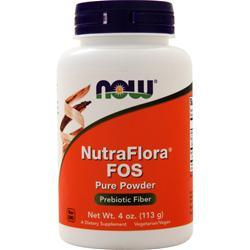 Now Nutra Flora FOS 4 oz
