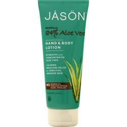 Jason Aloe Vera 84% Hand and Body Lotion 8 oz