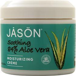 Jason Aloe Vera Moisturizing Creme (84% Ultra-Comforting) 4 oz
