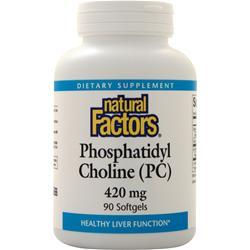 Natural Factors Phosphatidyl Choline (420mg) 90 sgels
