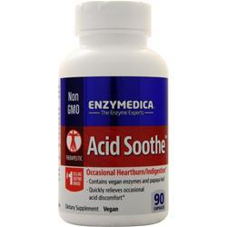 Enzymedica Acid Soothe 90 caps