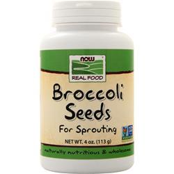 Now Broccoli Seeds - For Sprouting 4 oz