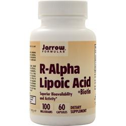 Jarrow R-Alpha Lipoic Acid with Biotin 60 vcaps