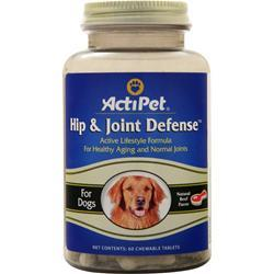 Actipet Hip & Joint Defense Natural Beef Flavor 60 chews