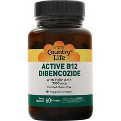 Country Life Active B12 Dibencozide 60 lzngs