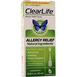 Heel ClearLife Allergy Relief Spray 20 mL