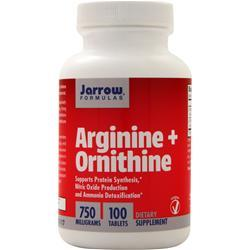 Jarrow Arginine plus Ornithine 100 tabs
