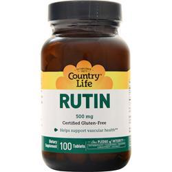 Country Life Rutin (500mg) 100 tabs