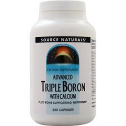 Source Naturals Advanced Triple Boron with Calcium 240 caps