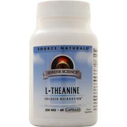 Source Naturals L-Theanine (200mg) 60 caps