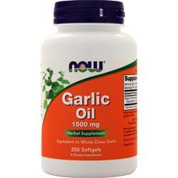 Now Triple Strength Garlic Oil 250 sgels