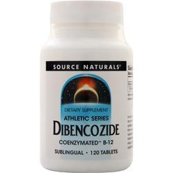 Source Naturals Dibencozide Coenzymated B-12 120 tabs