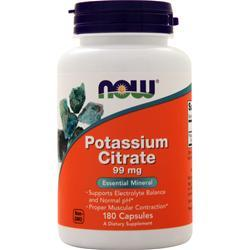 Now Potassium Citrate (99mg) 180 caps
