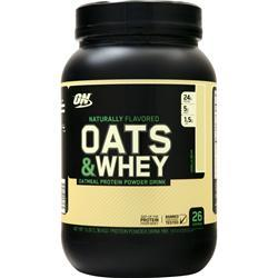 Optimum Nutrition Natural 100% Oats & Whey Vanilla Bean 3 lbs