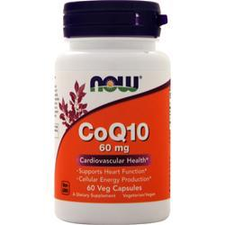 Now CoQ10 (60mg) 60 vcaps