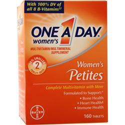 Bayer Healthcare ONE A DAY Women's Petites 160 tabs