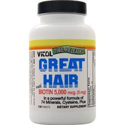 Vitol Great Hair with Biotin 120 tabs