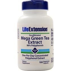 Life Extension Mega Green Tea Extract (Decaffeinated) 100 vcaps
