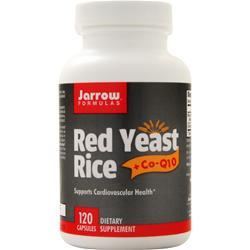 Jarrow Red Yeast Rice + Co-Q10 120 caps