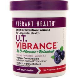 Vibrant Health U.T. Vibrance Powder - Mannose & Botanicals 2.02 oz