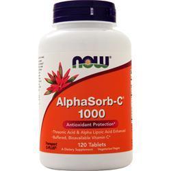 Now AlphaSorb-C 1000 120 tabs