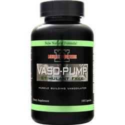 Muscle Fortress Vaso-Pump 180 caps
