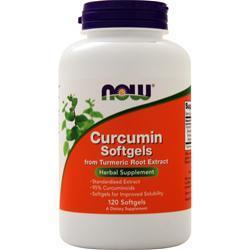 Now Curcumin Softgels 120 sgels