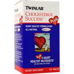 TwinLab Cholesterol Success Plus 120 tabs