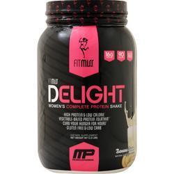 FitMiss Delight - Women's Premium Healthy Nutrition Shake Banana Cream 2 lbs