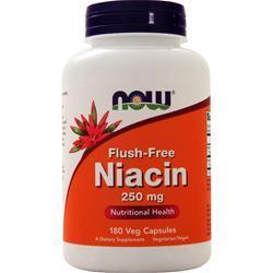 Now Flush-Free Niacin (250mg) 180 vcaps