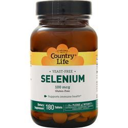 Country Life Selenium (100mcg) 180 tabs