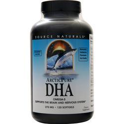 Source Naturals ArcticPure DHA 120 sgels