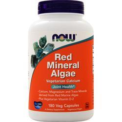 Now Red Mineral Algae 180 vcaps