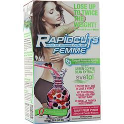 Allmax Nutrition RapidCuts Femme Crystals Berry Fruit Punch 22 pckts