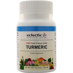 Eclectic Institute Fresh Freeze-Dried Tumeric 90 vcaps