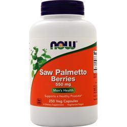 Now Saw Palmetto Berry 250 caps