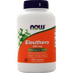 Now Eleuthero (500mg) 250 caps