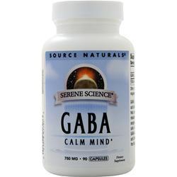 Source Naturals GABA (750mg) 90 caps