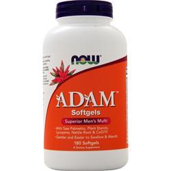 Now ADAM Men's Multivitamin 180 sgels